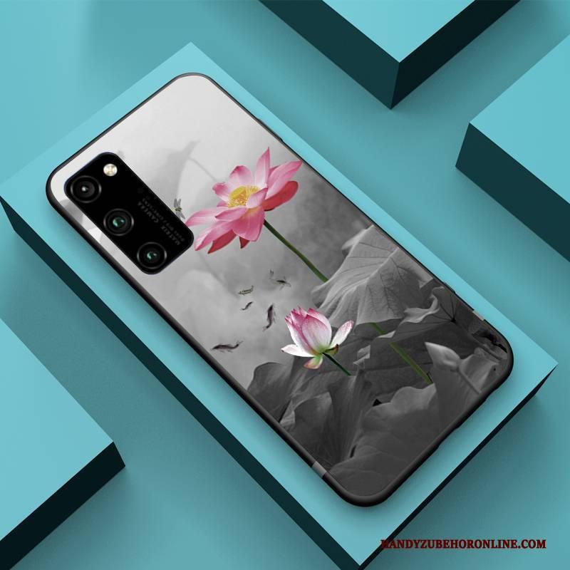 Hülle Honor View30 Pro Silikon Handyhüllen Anti-sturz, Case Honor View30 Pro Taschen Wind Chinesische Art