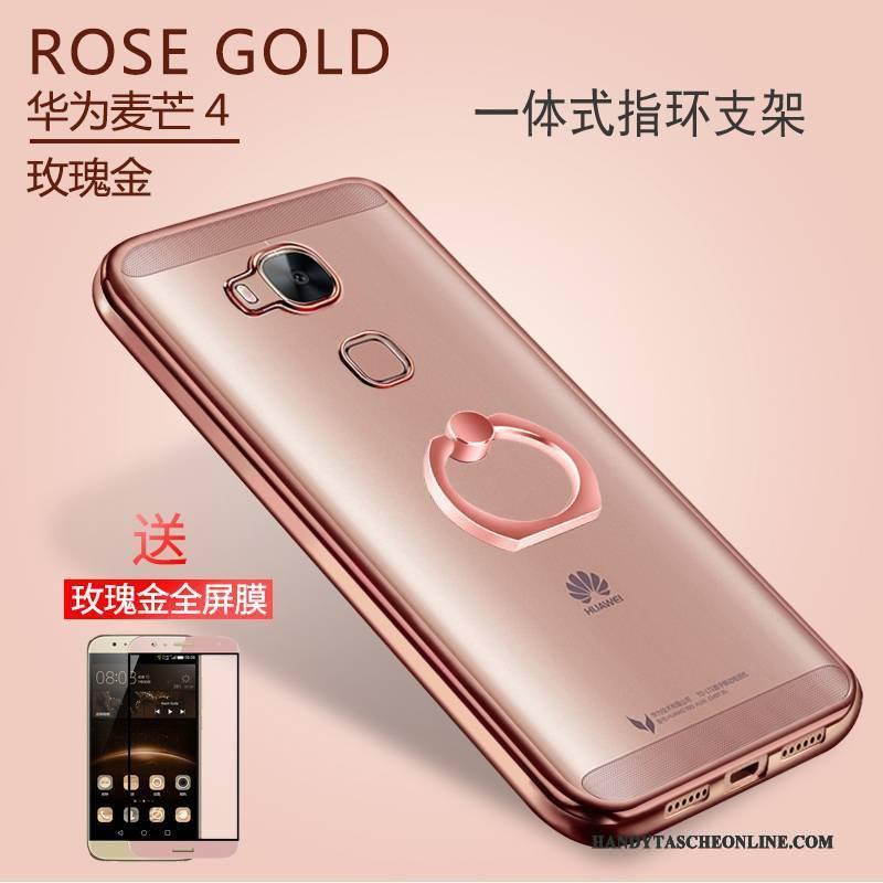 Hülle Huawei G7 Plus Weiche Handyhüllen Anti-sturz, Case Huawei G7 Plus Silikon Transparent Magnetismus