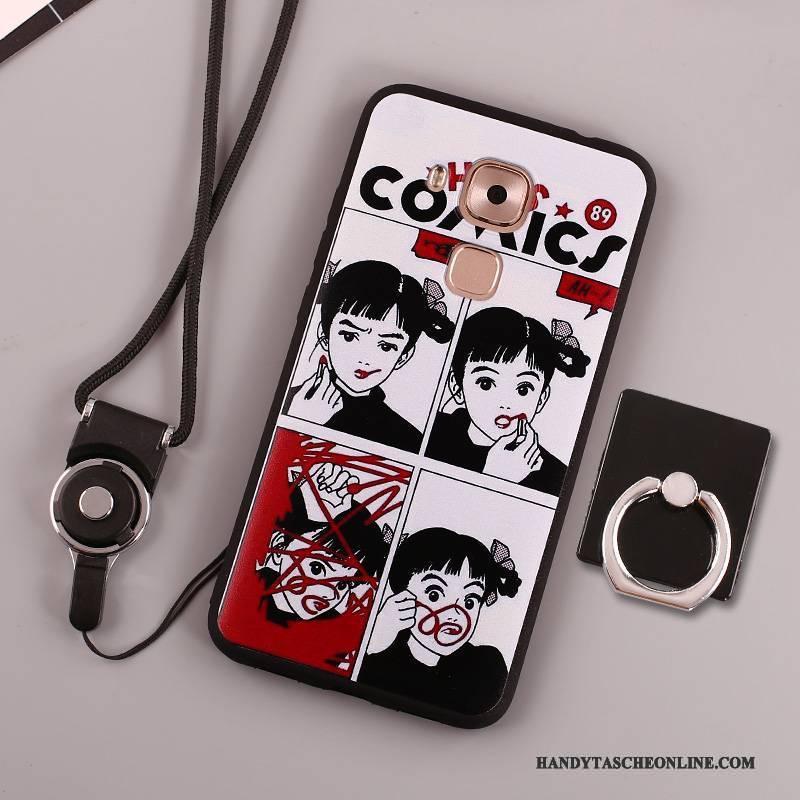 Hülle Huawei Mate 8 Weiche Rosa Handyhüllen, Case Huawei Mate 8 Gemalt Ring