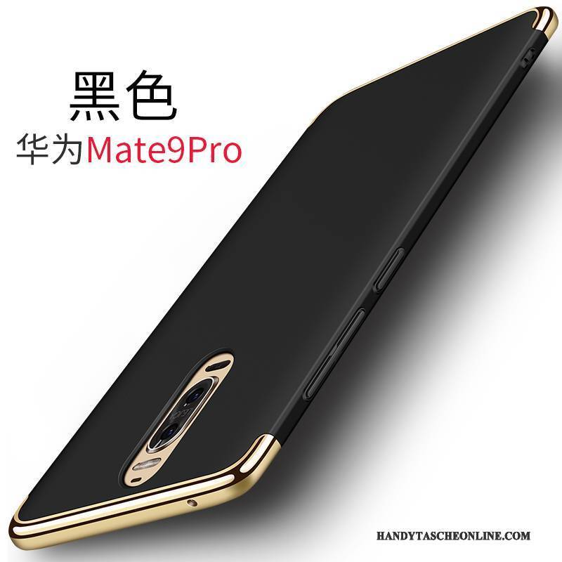 Hülle Huawei Mate 9 Pro Metall Schwer Rot, Case Huawei Mate 9 Pro Handyhüllen