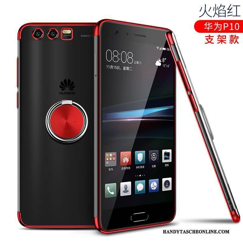 Hülle Huawei P10 Silikon Transparent Handyhüllen, Case Huawei P10 Taschen Überzug Schlank