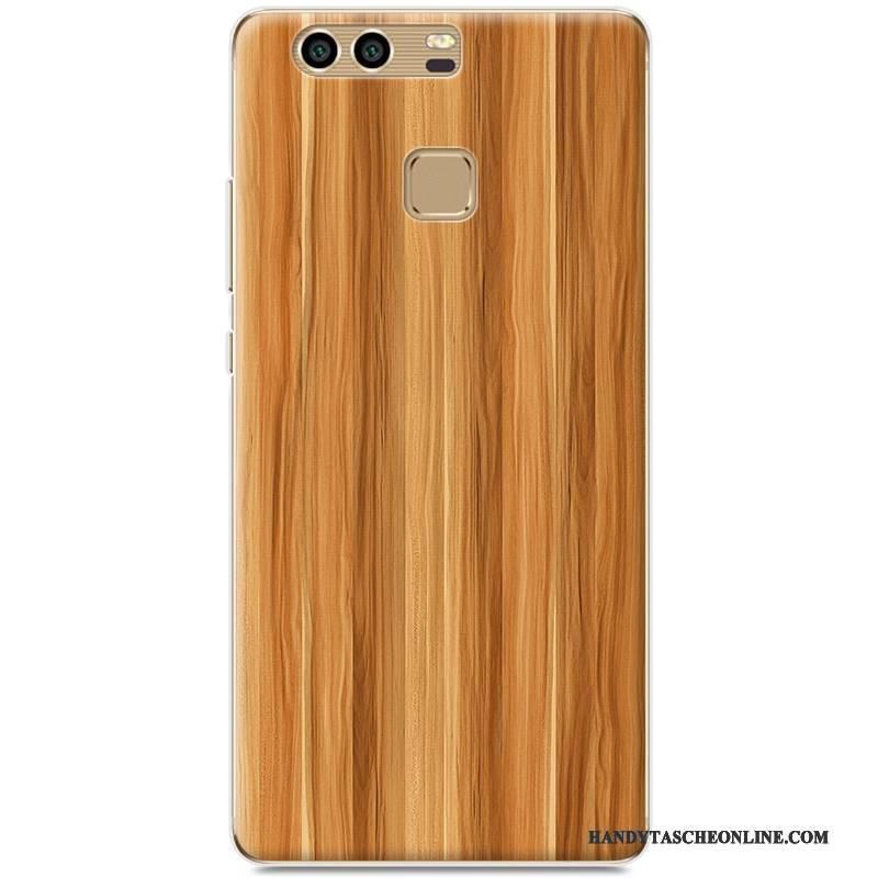 Hülle Huawei P9 Gemalt Schwer Handyhüllen, Case Huawei P9 Schutz Grau