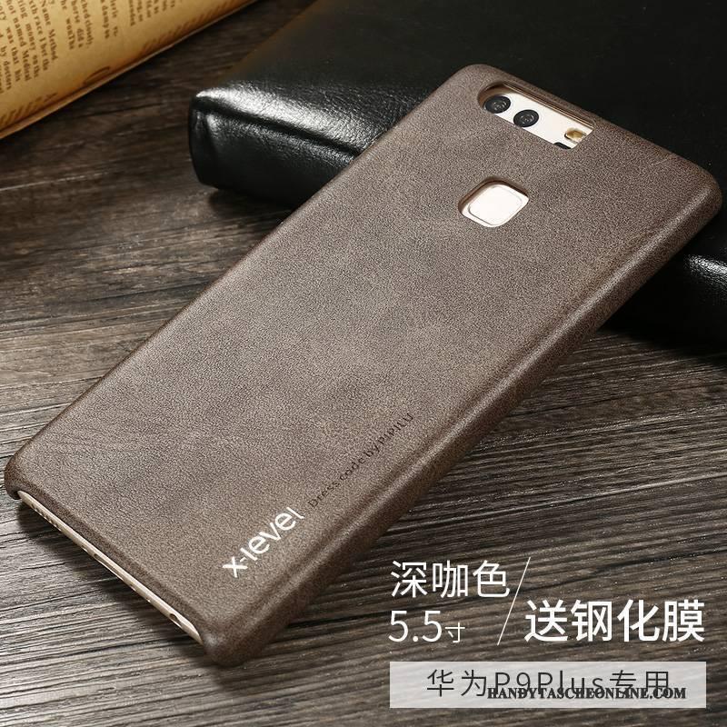 Hülle Huawei P9 Plus Weiche Handyhüllen Anti-sturz, Case Huawei P9 Plus Lederhülle Schlank