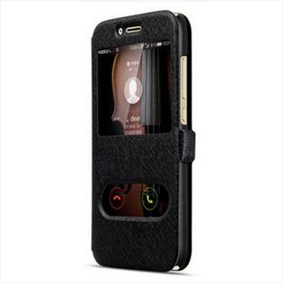 Hülle Moto G7 Schutz Anti-sturz Handyhüllen, Case Moto G7 Lederhülle Weiß