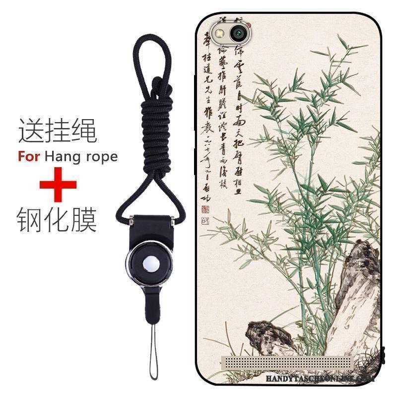 Hülle Redmi 5a Schutz Nubuck Handyhüllen, Case Redmi 5a Farbe Trend Rot