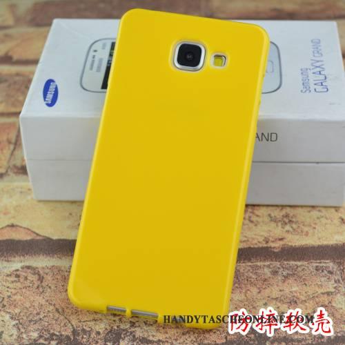 Hülle Samsung Galaxy A5 2016 Silikon Lila Handyhüllen, Case Samsung Galaxy A5 2016 Schutz Anti-sturz