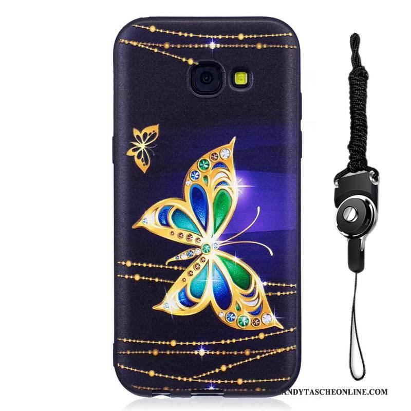 Hülle Samsung Galaxy A5 2017 Schutz Handyhüllen Nubuck, Case Samsung Galaxy A5 2017 Farbe