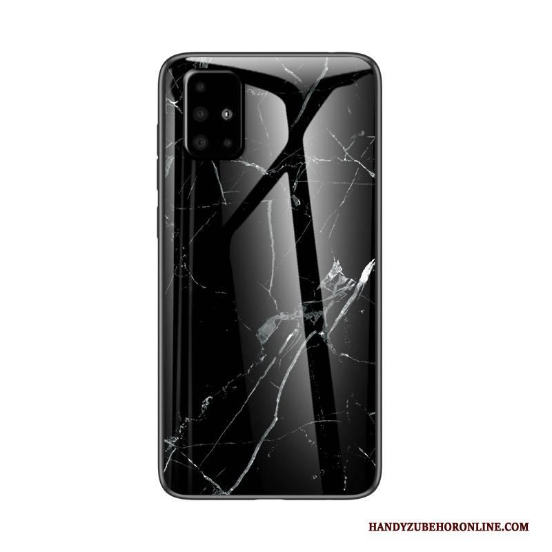 Hülle Samsung Galaxy A51 Weiche Trendmarke Netto Rot, Case Samsung Galaxy A51 Taschen Handyhüllen Schwer