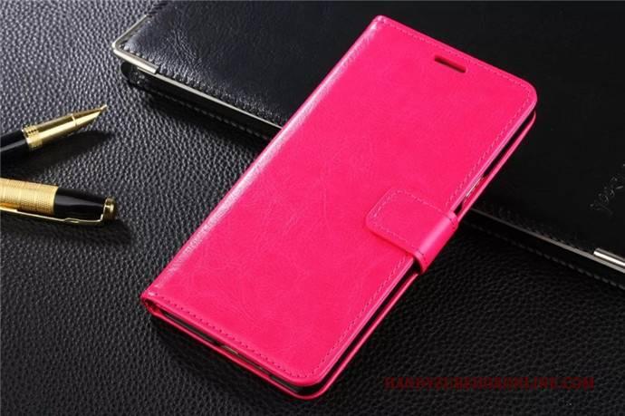 Hülle Samsung Galaxy A6+ Schutz Trend Handyhüllen, Case Samsung Galaxy A6+ Lederhülle Blau