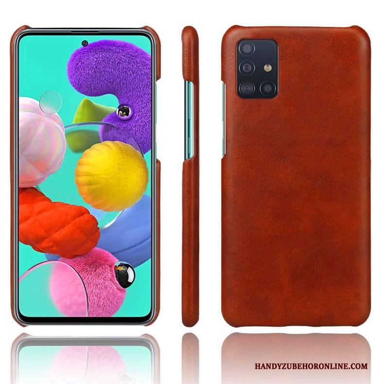 Hülle Samsung Galaxy A71 Kreativ Anti-sturz Persönlichkeit, Case Samsung Galaxy A71 Schutz Trend Netto Rot
