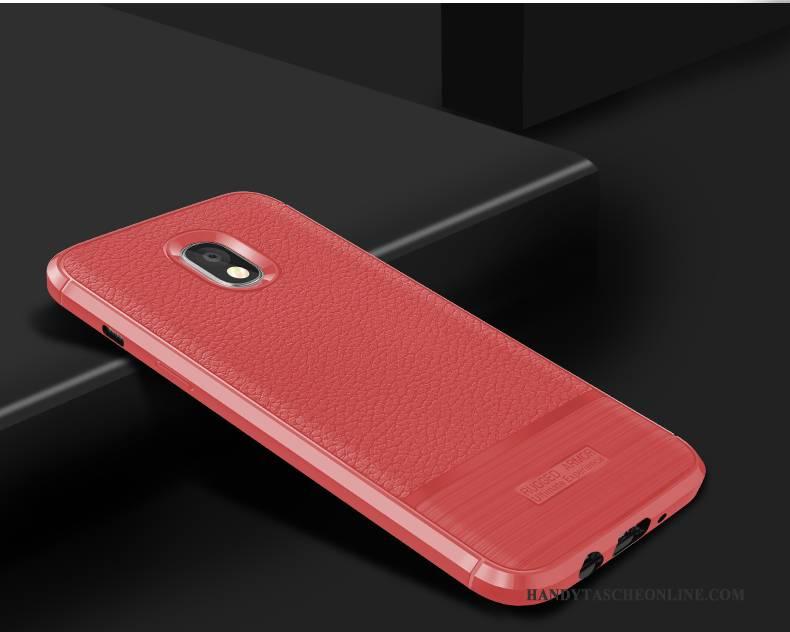 Hülle Samsung Galaxy J5 2017 Schutz Handyhüllen Schwarz, Case Samsung Galaxy J5 2017 Silikon Anti-sturz