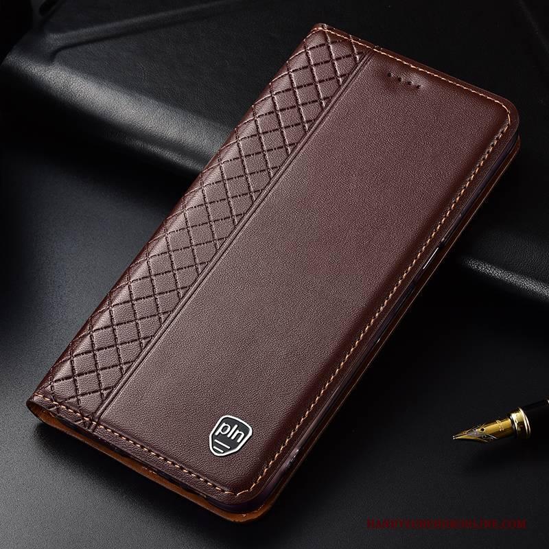 Hülle Samsung Galaxy Note 10+ Folio Handyhüllen Rot, Case Samsung Galaxy Note 10+ Taschen