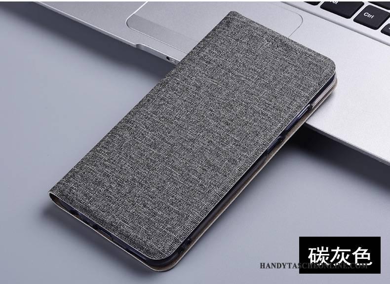 Hülle Samsung Galaxy Note 8 Folio Handyhüllen Baumwolle Und Leinen, Case Samsung Galaxy Note 8 Schutz Anti-sturz