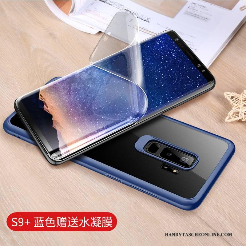 Hülle Samsung Galaxy S9+ Taschen Anti-sturz Transparent, Case Samsung Galaxy S9+ Kreativ Handyhüllen Persönlichkeit