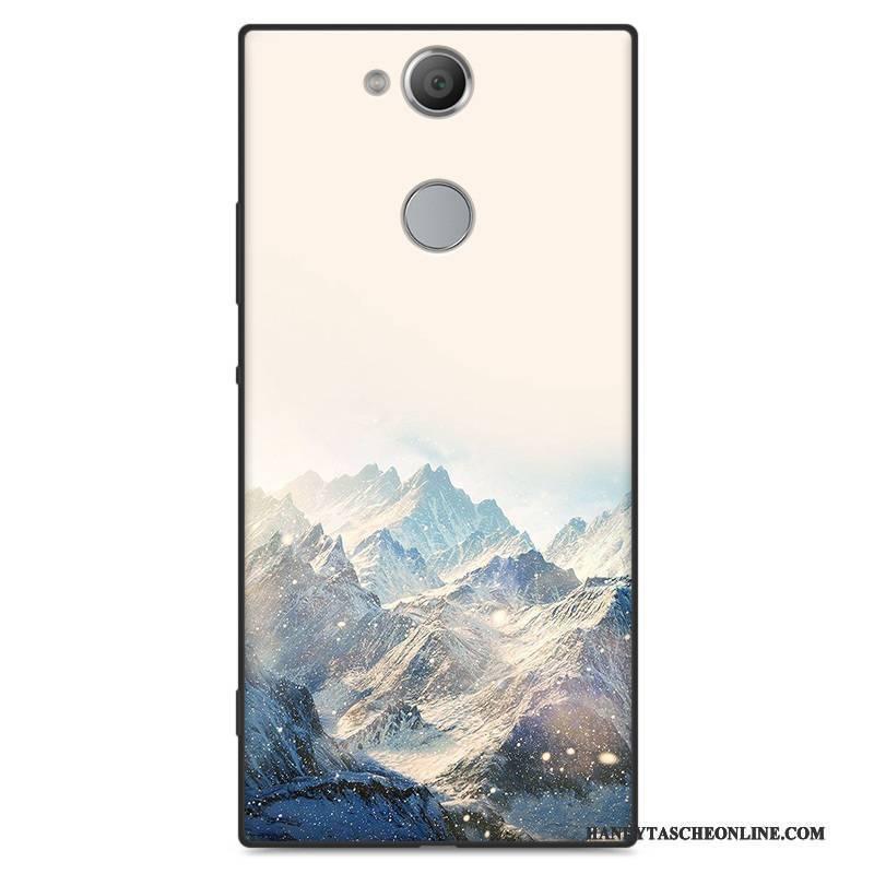 Hülle Sony Xperia Xa2 Schutz Nette Handyhüllen, Case Sony Xperia Xa2 Silikon Nubuck