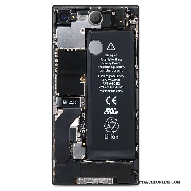 Hülle Sony Xperia Xa2 Taschen Weiß Trend, Case Sony Xperia Xa2 Weiche Persönlichkeit Nubuck