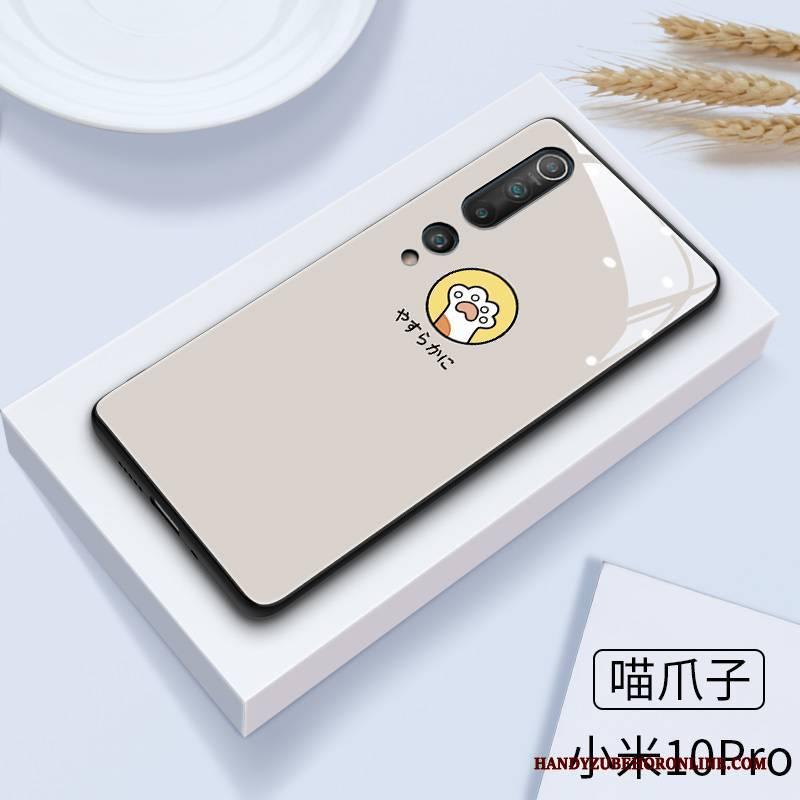 Hülle Xiaomi Mi 10 Pro Karikatur Handyhüllen Spiegel, Case Xiaomi Mi 10 Pro Schutz Neu Mini