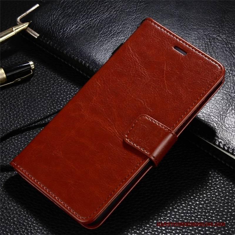 Hülle Xiaomi Mi 10 Pro Lederhülle Gold Rot, Case Xiaomi Mi 10 Pro Schutz Mini Handyhüllen
