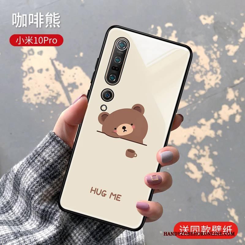 Hülle Xiaomi Mi 10 Pro Mode Persönlichkeit Mini, Case Xiaomi Mi 10 Pro Silikon Liebhaber Rosa