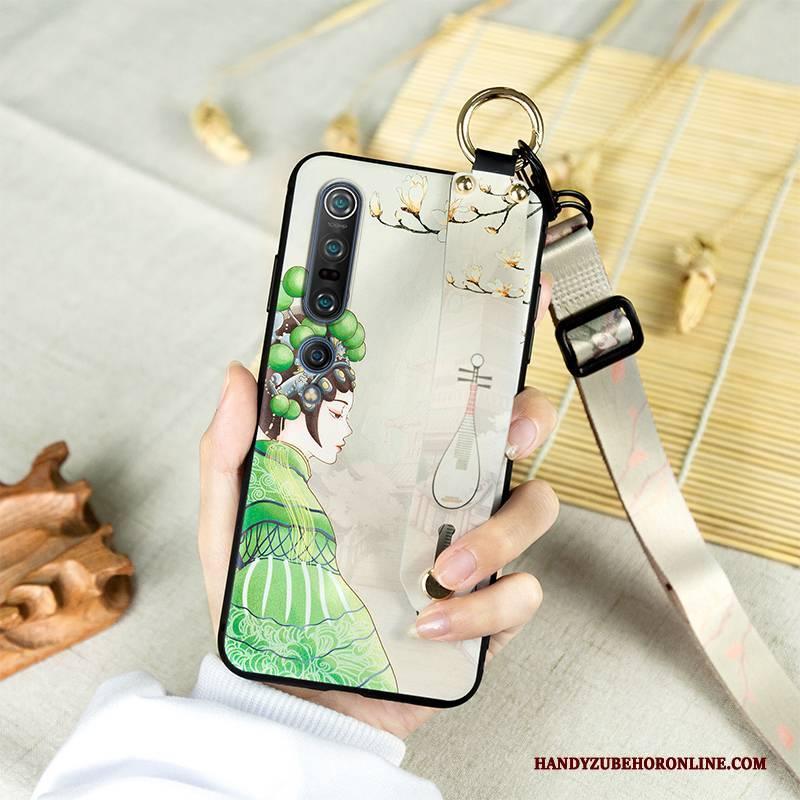 Hülle Xiaomi Mi 10 Pro Taschen Oper Persönlichkeit, Case Xiaomi Mi 10 Pro Silikon Klassisch Anti-sturz