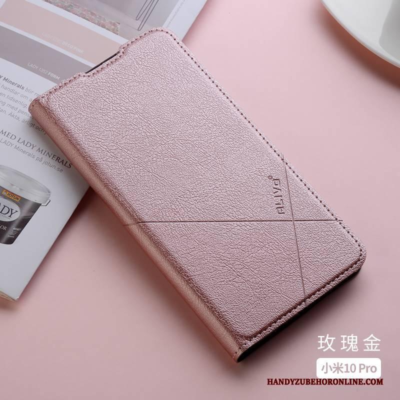 Hülle Xiaomi Mi 10 Pro Taschen Rot Schlank, Case Xiaomi Mi 10 Pro Silikon Anti-sturz Handyhüllen