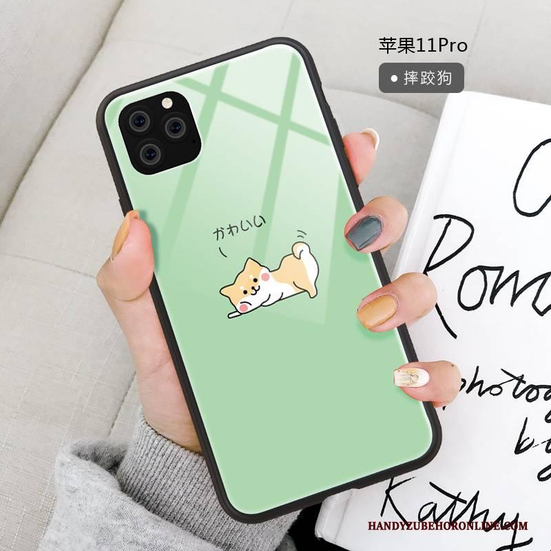 Hülle iPhone 11 Pro Karikatur Spiegel Anti-sturz, Case iPhone 11 Pro Silikon Trendmarke Neu