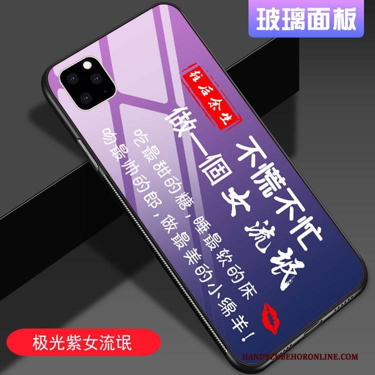 Hülle iPhone 11 Pro Kreativ Handyhüllen Neu, Case iPhone 11 Pro Schutz Netto Rot Farbverlauf