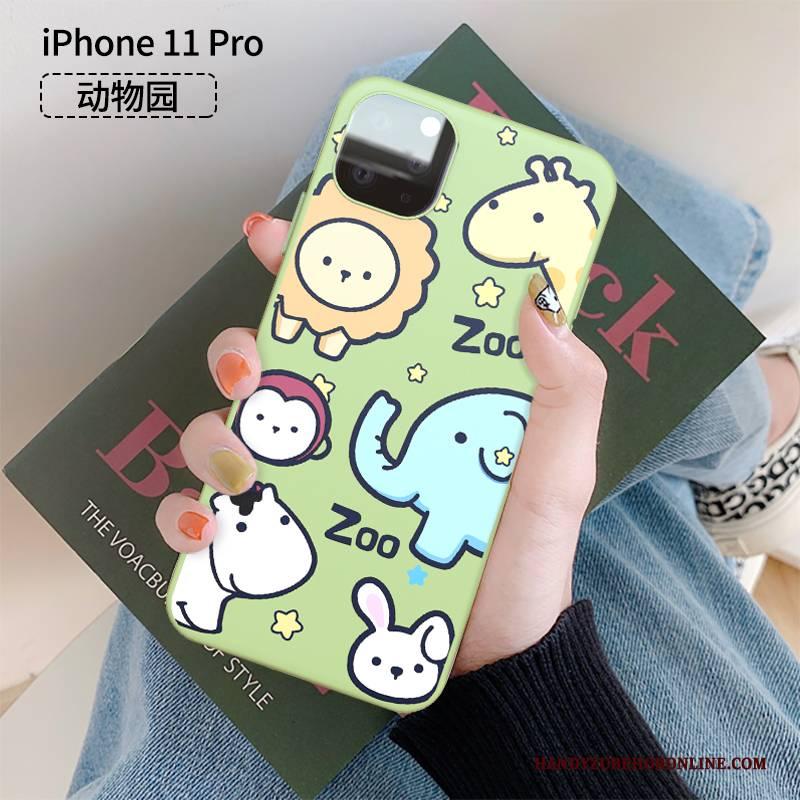 Hülle iPhone 11 Pro Kreativ Persönlichkeit Anti-sturz, Case iPhone 11 Pro Karikatur Nette Handyhüllen