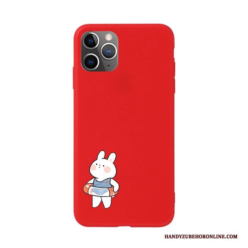 Hülle iPhone 11 Pro Max Weiche Blau Nette, Case iPhone 11 Pro Max Silikon Handyhüllen Häschen