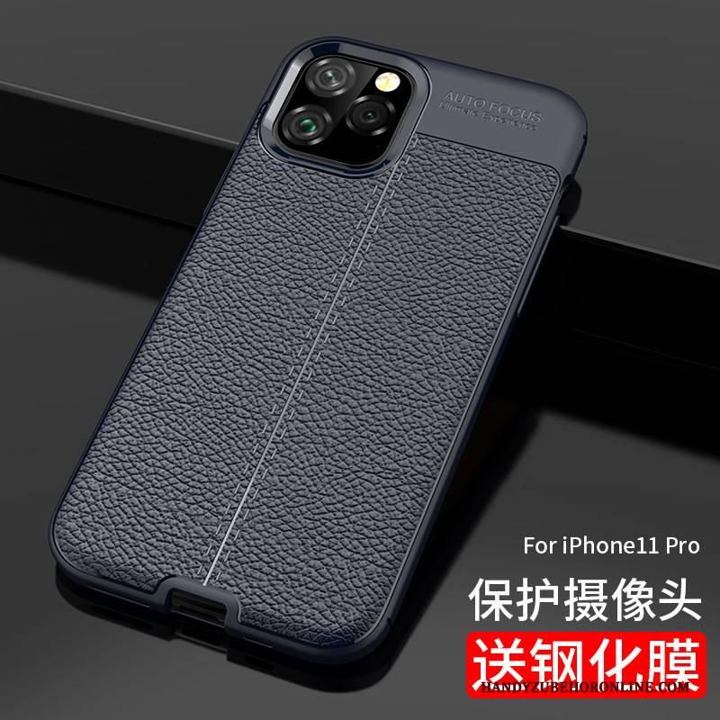 Hülle iPhone 11 Pro Silikon Business Persönlichkeit, Case iPhone 11 Pro Netto Rot Neu