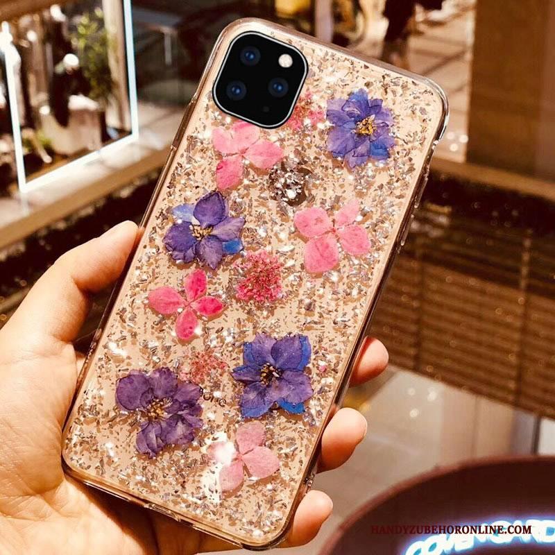 Hülle iPhone 11 Pro Silikon Gold Trendmarke, Case iPhone 11 Pro Handyhüllen Stern
