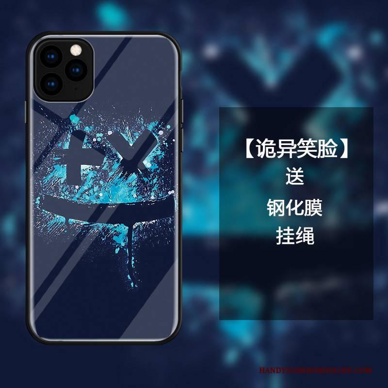 Hülle iPhone 11 Pro Taschen Anti-sturz Blau, Case iPhone 11 Pro Luxus Trend Handyhüllen