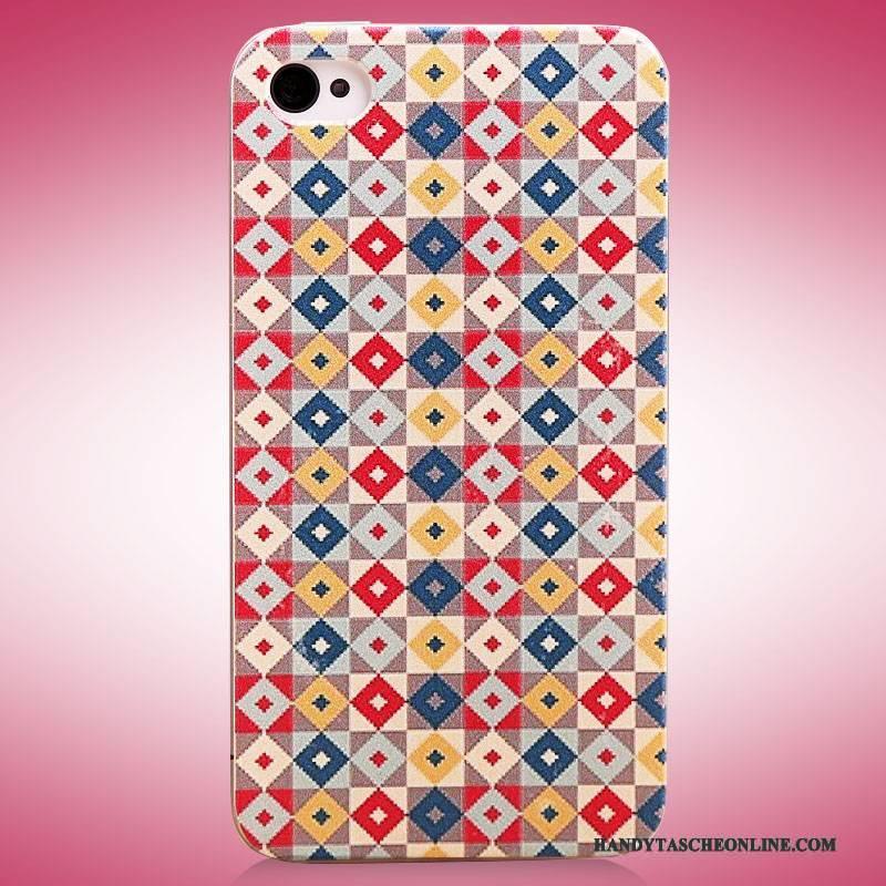 Hülle iPhone 4/4s Gemalt Trend Neu, Case iPhone 4/4s Farbe Schlank Handyhüllen