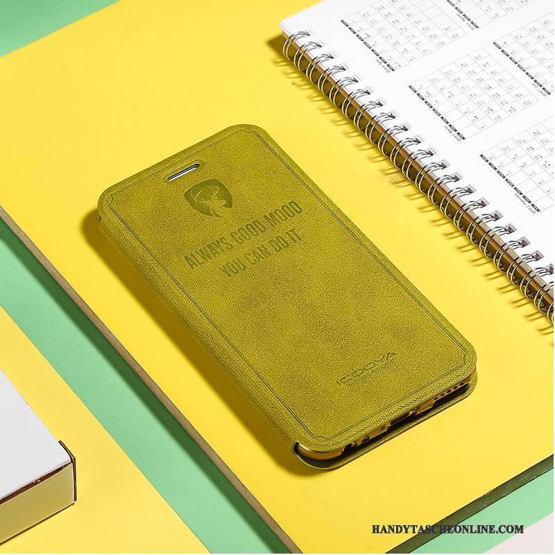 Hülle iPhone 7 Plus Lederhülle Grün Handyhüllen, Case iPhone 7 Plus Schutz Jugend
