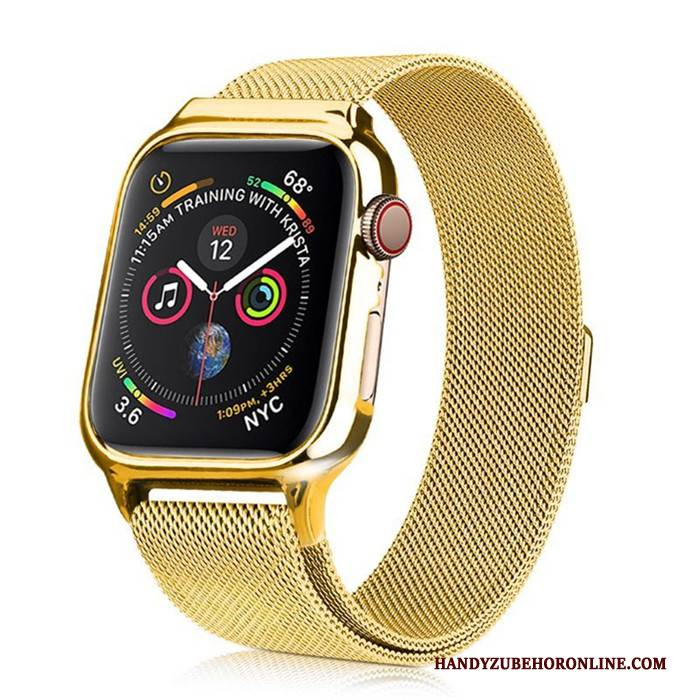 Hülle Apple Watch Series 1 Taschen Gold, Case Apple Watch Series 1 Schutz