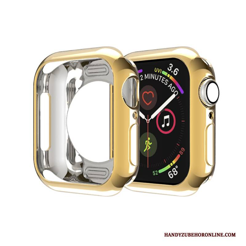 Hülle Apple Watch Series 2 Schutz Grenze Membran, Case Apple Watch Series 2 Weiche Gold Schlank