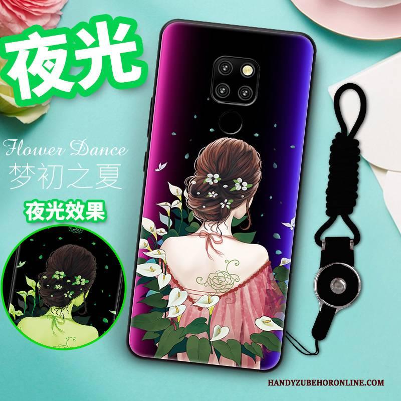 Hülle Huawei Mate 20 Taschen Persönlichkeit Super, Case Huawei Mate 20 Schutz Blau Neu