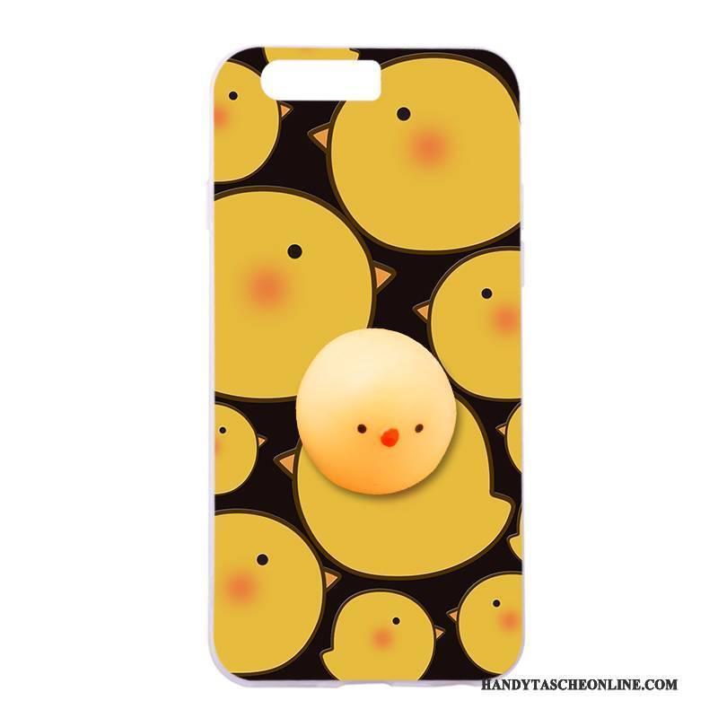 Hülle Huawei P10 Taschen Handyhüllen Gelb, Case Huawei P10 Silikon Anti-sturz Trend
