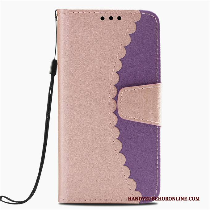 Hülle Huawei P20 Lite Lederhülle Anti-sturz, Case Huawei P20 Lite Taschen