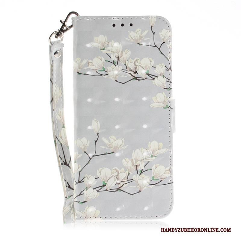 Hülle Huawei P20 Pro Schutz Sakura Weiß, Case Huawei P20 Pro Gemalt Handyhüllen Anti-sturz