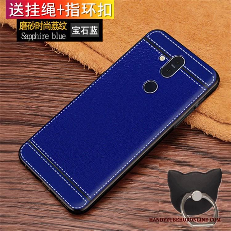 Hülle Nokia 8.1 Weiche Persönlichkeit Handyhüllen, Case Nokia 8.1 Taschen Blau Anti-sturz