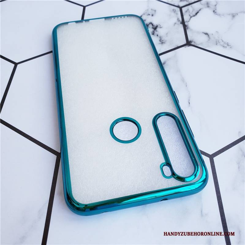 Hülle Redmi Note 8t Luxus Anti-sturz Rot, Case Redmi Note 8t Weiche Transparent Handyhüllen