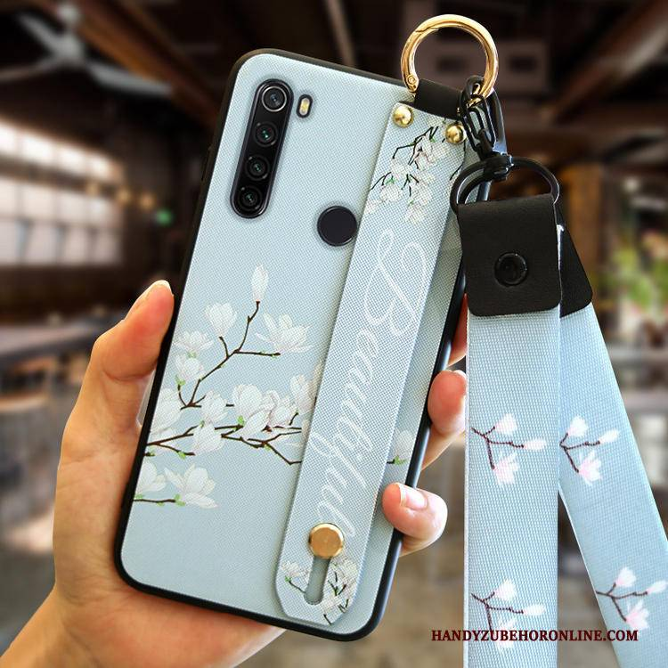 Hülle Redmi Note 8t Silikon Weiß Anti-sturz, Case Redmi Note 8t Trend Mini