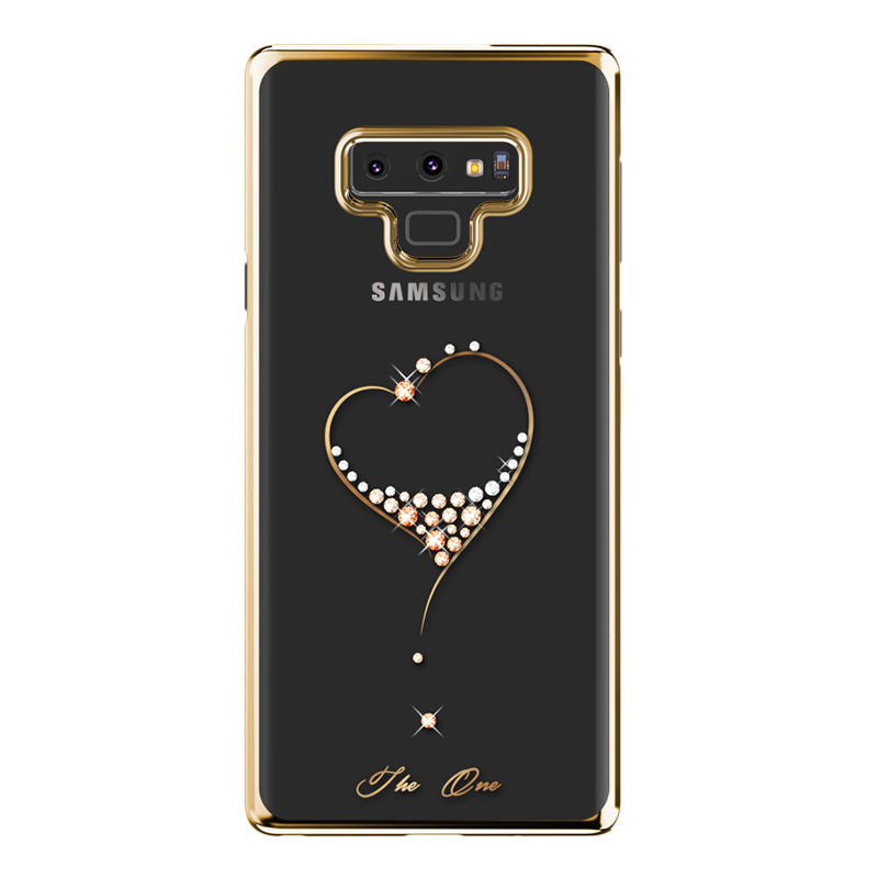 Hülle Samsung Galaxy Note 9 Luxus Handyhüllen Transparent, Case Samsung Galaxy Note 9 Taschen Anti-sturz Schlank
