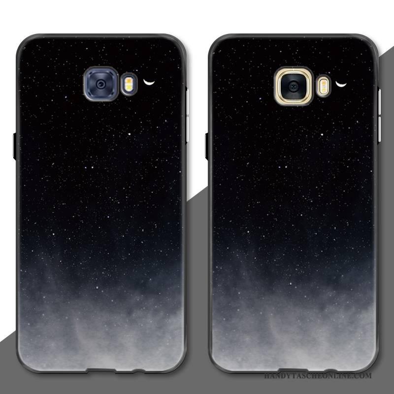 Hülle Samsung Galaxy S7 Edge Taschen Handyhüllen Einfach, Case Samsung Galaxy S7 Edge Schutz Anti-sturz Sternenhimmel