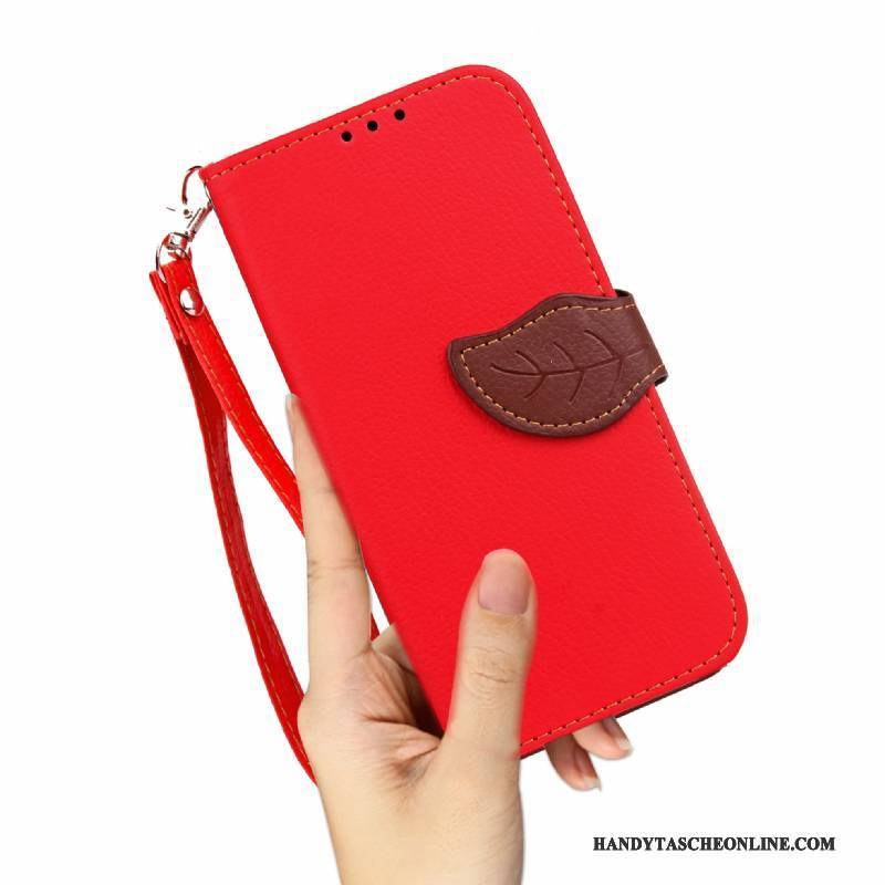 Hülle Sony Xperia Xz1 Compact Taschen Rot Anti-sturz, Case Sony Xperia Xz1 Compact Silikon Handyhüllen