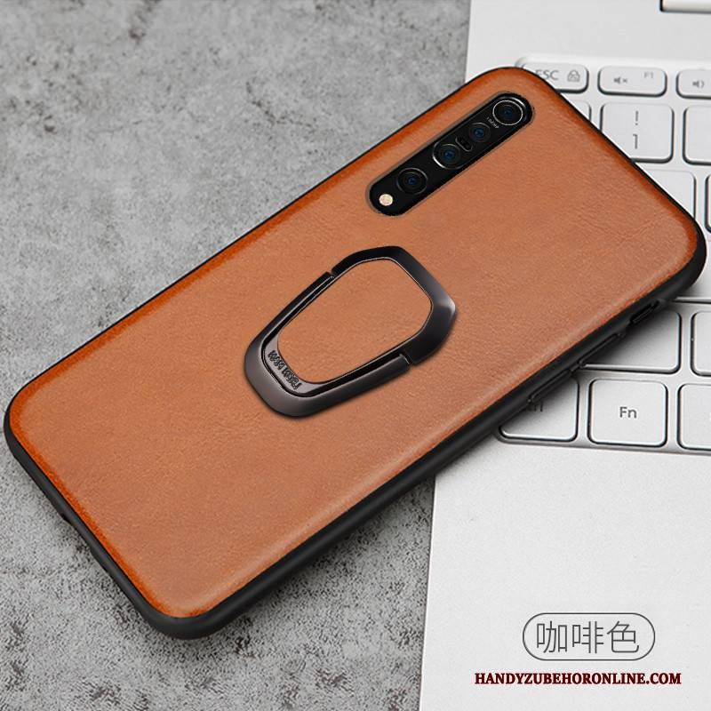 Hülle Xiaomi Mi 10 Pro Kreativ Handyhüllen Ring, Case Xiaomi Mi 10 Pro Leder Kuh High-end
