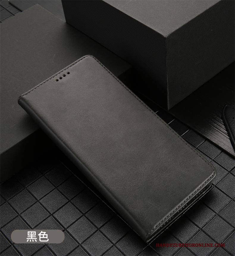 Hülle iPhone 11 Pro Taschen Schwarz Anti-sturz, Case iPhone 11 Pro Lederhülle Handyhüllen Karte