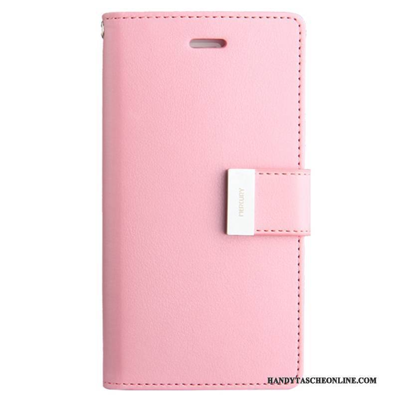 Hülle iPhone 8 Plus Schutz Rosa Handyhüllen, Case iPhone 8 Plus Folio Anti-sturz